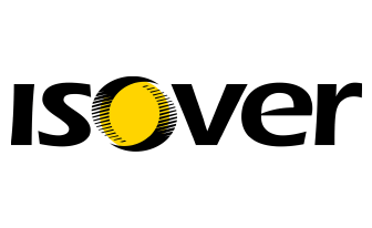 Stavebná firma stavebný materiál isover logo